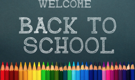 Welcome Back! It's going to be a great year!